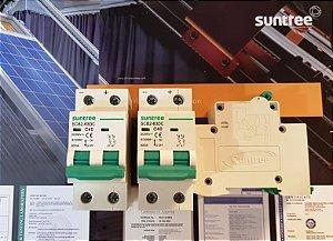 Disjuntor CC Bipolar 40A 550VDC SCB2 Suntree