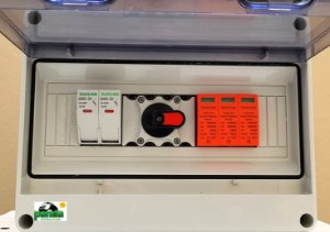 Quadro Fotovoltaico (Stringbox), 1x1  15A 1000Vdc