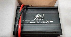 Inversor 3000 watts Onda Senoidal pura 24Vdc saída 220Vac PANDA