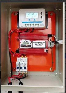 kIT SOLAR 5 Inversor + Controlador + Painel Solar