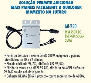 Micro Inversor Solar Mi-250 Hoymiles