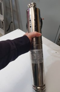 Bomba solar de água submersível para poço 2000L/H S242T-40