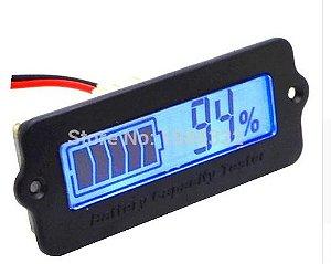 Voltímetro Medidor Capacidade De Bateria  12 V 24 v 36 v 48 vcc