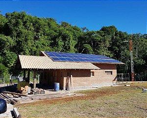 Instalação de Energia Solar Off Grid em Sitio Casa fazendas