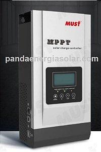 Controlador Solar 12/24/36/48V 80A MPPT PC1800F Must Solar