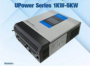 Inversor Híbrido Epever Upower 3000W / 60A MPPT / 24Vcc / 220Vca