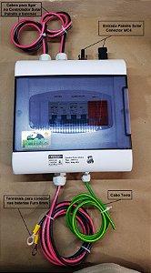 Quadro Fotovoltaico (Stringbox), Para controlador Solar 30A