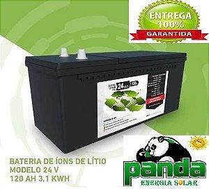 Bateria De Lítio (lithium Ion) 120ah 24v