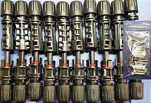 Conector MC4 30A 1500VDC PV-LTM5 Boneng (10 pares)