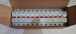 12 Porta Fusível Solar 10x38 1000VCC Modelo: CFPV-32 FCHFE