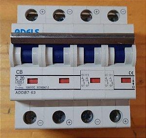 12 Disjuntor 1000Vcc 16A  + 24 par MC4