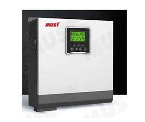 Inversor Hibrido 3000 W 220 24/220 controlador solar 60A MPPT Must Solar