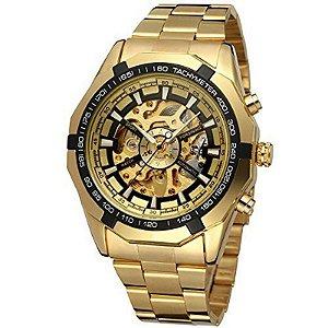 Relógio Automático Forsining Skeleton