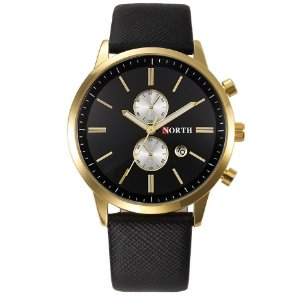 Relógio de Luxo North Minimalista