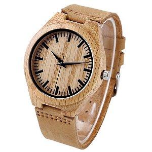 Relógio Feminino Naturalle Wood