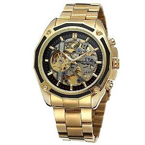 Relógio Forsining Skelet 9071