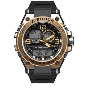 Relógio Smael Luxury Army 1603