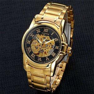 Relógio de Luxo Winner Gold