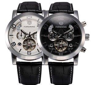 Relógio de Luxo Forsining Turbilhão 100% funcional