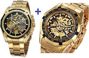 KIT: 2 relógios mecânicos