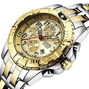 Relógio Temeite Casual Luxury
