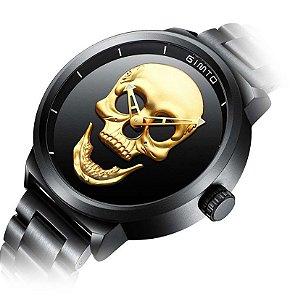 Relógio Casual Caveira GIMTO