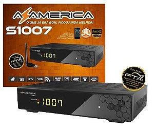 Azamerica S1007 HD/IKS/SKS/CS *ENVIO EM 72HRS*