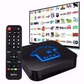 Receptor Digital TV Htv 5 Tv Box Iptv 4K