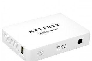 Receptor Digital TV Net Free X-200 HD WiFi Cabo