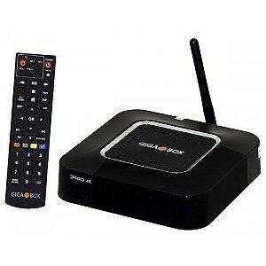 Receptor Digital TV Gigabox Droid 4K HD WiFi