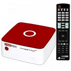 Receptor Digital TV  HD CINEBOX MAESTRO + PLUS - (ACM)