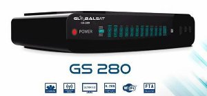 RECEPTOR GLOBALSAT GS-280  IPTV  WIFI 3 TUNNERS  ACM