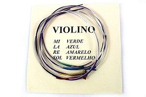 Encordoamento Mauro Calixto 4/4 - Violino