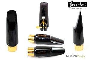 Boquilha Ever-ton Anel De Metal 6 Completa - Sax Alto