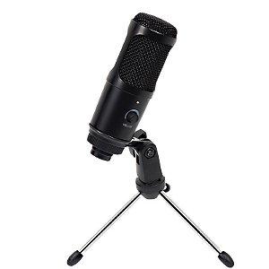Microfone Condensador Cardióide Profissional  E2401 Estúdio