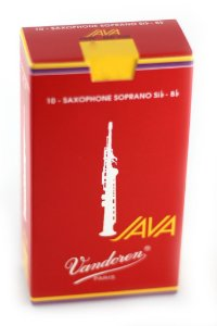 Palheta Vandoren Java Red Cx 10 - Sax Soprano