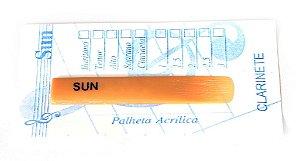 Palheta Sun Acrílica - Clarinete