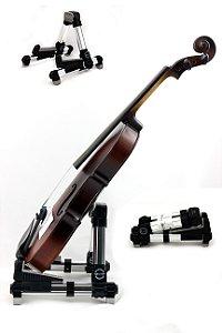 Suporte Compacto De Chão Para Violino E Ukulele - Dobrável