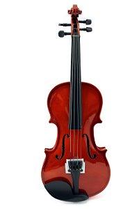 Violino Infantil Gold Wood 1/2 Estojo Nfe Garantia