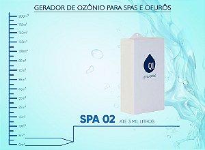 Gerador de Ozônio Para Spas e Ofurôs Q1 Ambiental - SPA 02 - Para Spas e Ofurôs de Até 3 Mil Litros