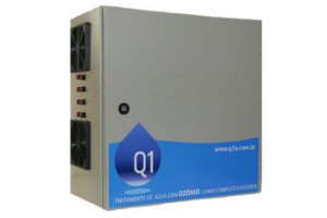 Sistema de Ozônio Q6C Para Piscinas Corporativas Q1 Ambiental - Para Piscinas de Até 550.000 Litros