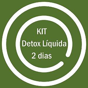 KIT DETOX LIQUIDA 2 DIAS