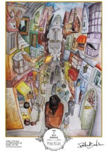 Pôster - O Beco Diagonal (Harry Potter #3) - Edição Comemorativa Especial Limitada