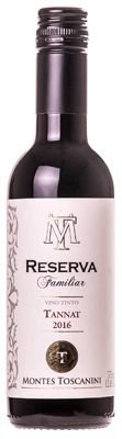 Vinho Montes Toscanini Reserva de Familia Tannat de 375ml