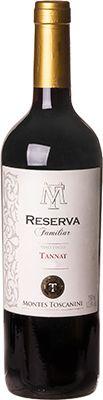 Vinho Montes Toscanini Reserva Familia Tannat