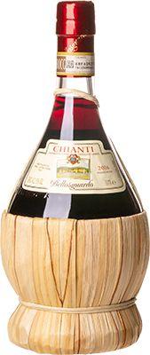 Vinho Chianti Empalhado Tinto Bellosguardo