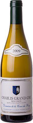 Vinho Chablis Grand Cru Bougros Domaine de la Cour du Roy