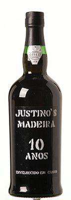 Vinho Justino Madeira 10 anos