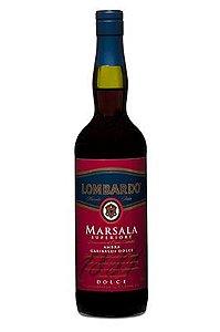 Vinho Lombardo Marsala Superiore Ambra Dolce Licoroso
