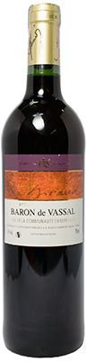 Vinho Baron de Vassal Tinto Vin de Table de France Robert Giraud